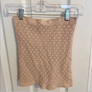 Free People Tops - NWOT Free People Intimately Mauve Tube Top XS/S